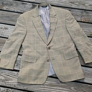 Jos. A. Bank 2 Button Wool Sports Jacket 40S EUC